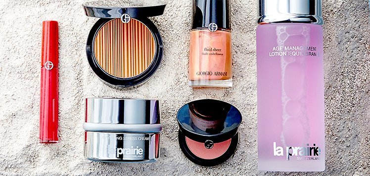 Giorgio Armani & More Luxe Beauty Musts