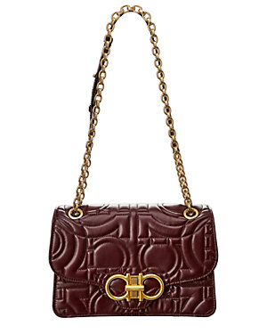 Salvatore Ferragamo Quilted Gancini Leather Shoulder Bag from Gilt ... 8dff0506ae