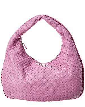 9a7f4535c4f5 Bottega Veneta Veneta Medium Leather Hobo Bag