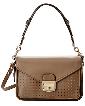 21d63fc9468a Longchamp Mademoiselle Leather Crossbody