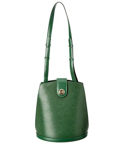 Louis Vuitton Green Epi Leather Cluny by Louis Vuitton