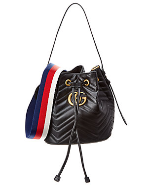 1ca1be1f5e6 Gucci Gg Marmont Quilted Leather Bucket Bag from Gilt - Styhunt