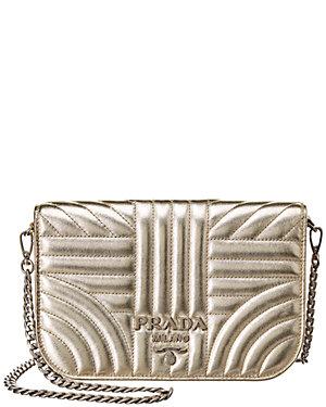 4b590ba2ea58c9 Prada Small Diagramme Leather Shoulder Bag from Gilt - Styhunt