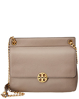 aef141c9d202 Tory Burch Chelsea Flap Leather Shoulder Bag