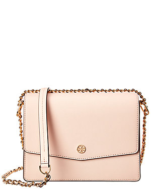 89fac4052a75 Tory Burch Robinson Convertible Leather Shoulder Bag