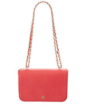 bf2c5c1ff40d Tory Burch Emerson Leather Adjustable Shoulder Bag
