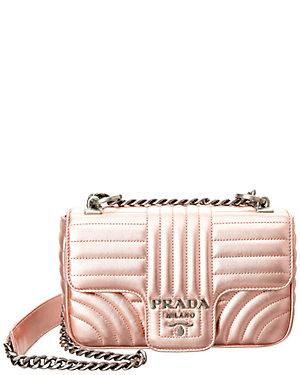 1c9fdd2c4aa4d5 Prada Diagramme Leather Shoulder Bag from Gilt - Styhunt