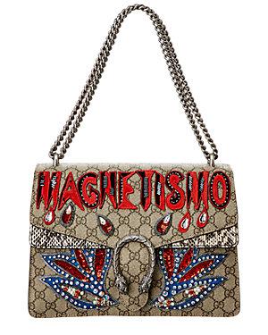 bef3690c795f23 Gucci Dionysus Magnetismo Medium Gg Supreme Canvas Shoulder Bag · Save