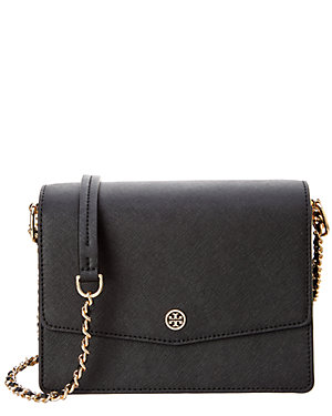 ab9d40fa2315 Tory Burch Robinson Convertible Leather Shoulder Bag from Gilt - Styhunt