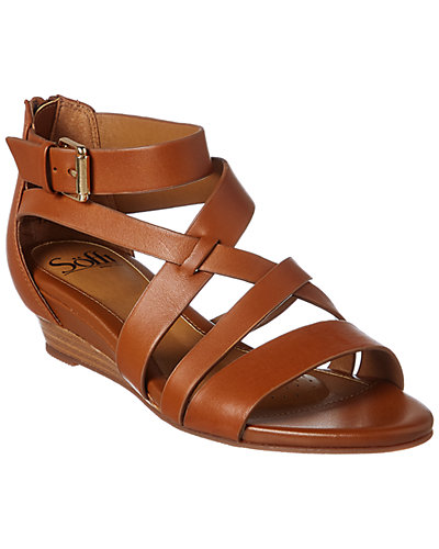 Sofft Richmond Leather Wedge Sandal by Sofft