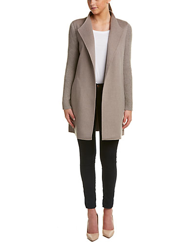 Forte Wool & Cashmere Blend Coat by Forte