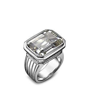 SLANE Grace Silver 18.00 ct. Topaz Ring