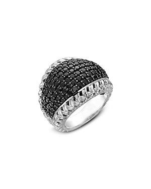 SLANE Cabaret Silver Spinel Ring