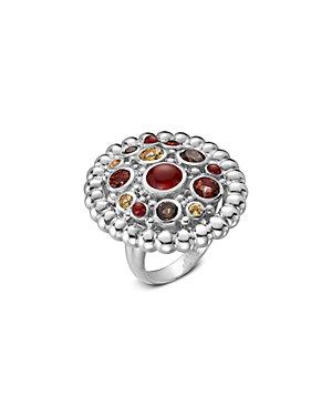 SLANE Nuage Silver Gemstone Ring