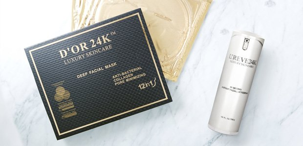 Treat Your Skin with D'OR 24K, L'REVE, & More