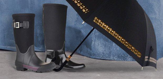 Rain Boots, Umbrellas, & More That Make a Splash