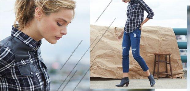 Plaid Tops & Denim: Your Fall Uniform