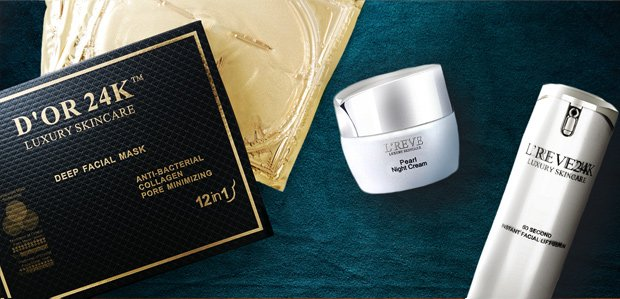 D'OR 24K & More Masks: For Your At-Home Spa Day