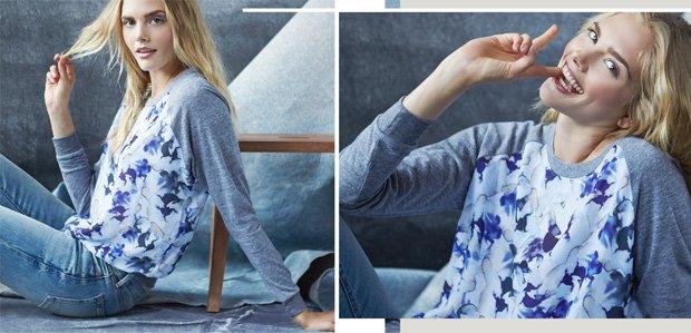 Sweatshirts & Denim: Now Trending