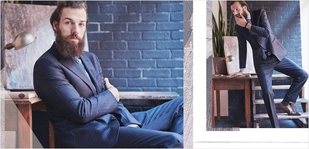 Rue Trunk Show: Men's Suiting Edition