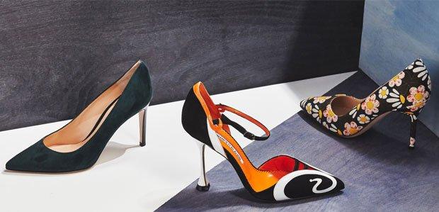 Luxe Shoe Picks Featuring Manolo Blahnik