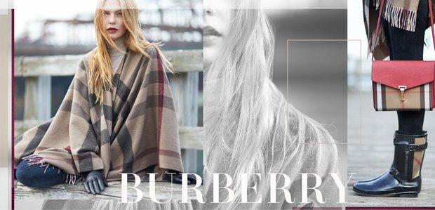 Burberry Handbags, Outerwear, & More
