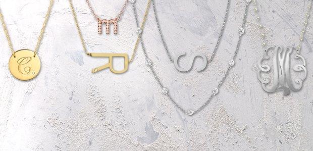 Jane Basch Monogrammed Jewelry