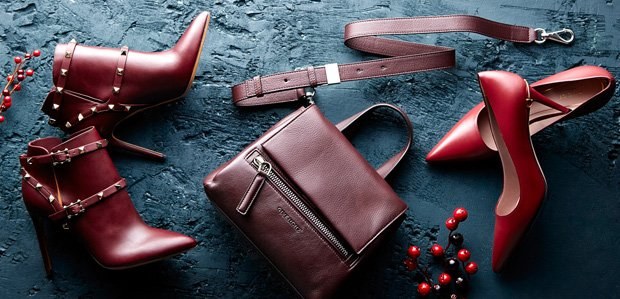 Givenchy & More: Luxe Extras in Burgundy Hues