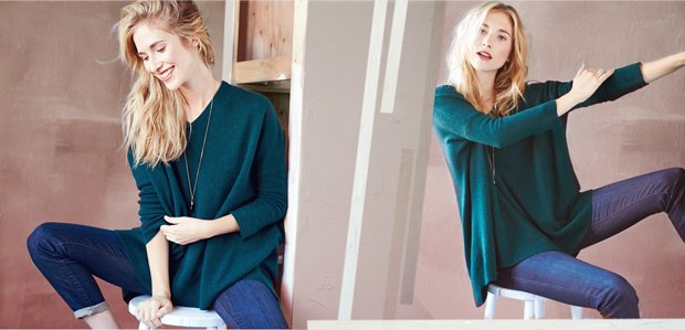 The Oversized Cashmere Sweater