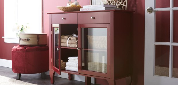 Get Organized: Clutter-Concealing Furniture & Decor