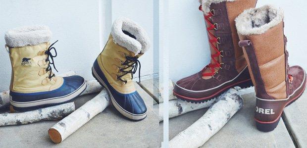 Winter Deserves Warm Boots: SOREL & More