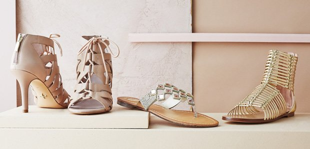 Spring Preview: Lace-Up Heels to Metallic Sandals