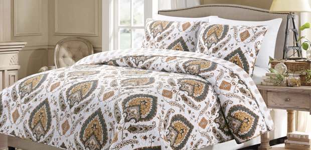 Top Off the Bed: Comforters to Throws