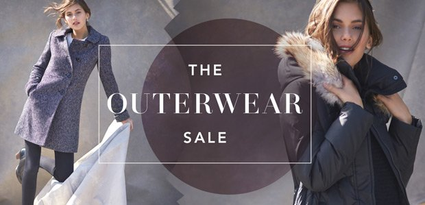 The Outerwear Sale. Cool temps. Hot prices.