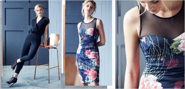 Karen Millen Clothing, Outerwear, & Shoes