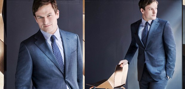 The Men's Power Wardrobe: Luxe Style Featuring Canali