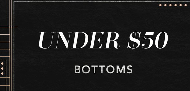 The Cyber Monday Sale: Bottoms