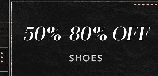 The Cyber Monday Sale: Shoes