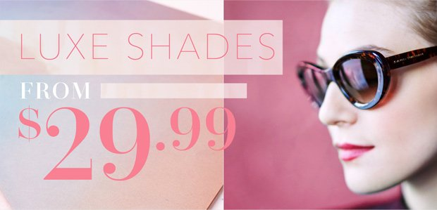 Luxe Shades Featuring Salvatore Ferragamo: From $29.99