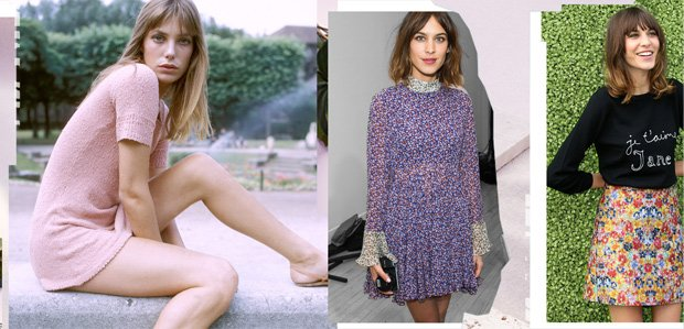 Then & Now: Style Inspired by Jane Birkin & Alexa Chung