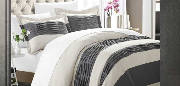 Make a Pretty Bed: Winter-Ready Comforters to Duvets
