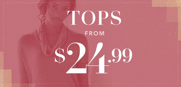 The Rue Warehouse Sale: Tops