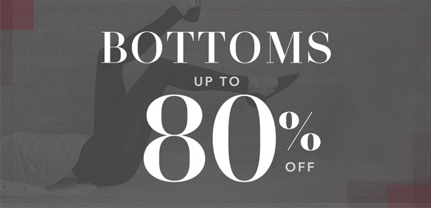 The Rue Warehouse Sale: Bottoms