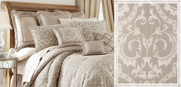 The Luxe Master Suite: Featuring Waterford Bedding