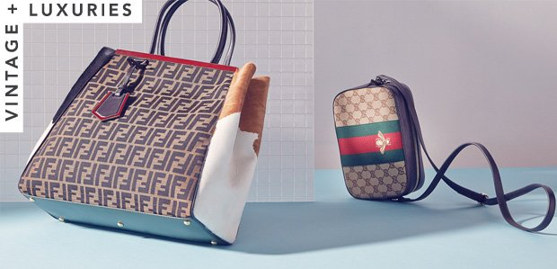 Luxe Picks by Linda's Stuff: From Gucci to FENDI