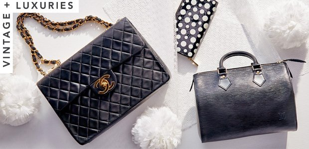 Black Is the New Black: Vintage Chanel & More