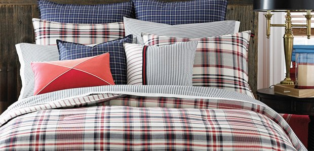 Bedding Brands We <3 Featuring Tommy Hilfiger
