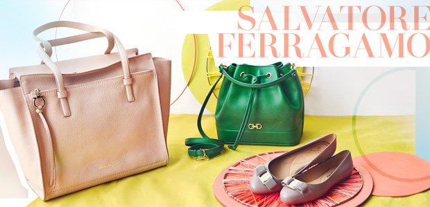 Salvatore Ferragamo Handbags, Shoes, & More