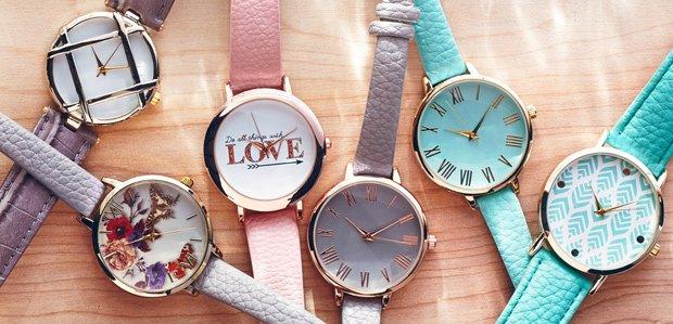 Olivia Pratt: $19.99 Watches