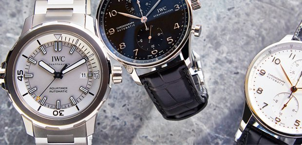Luxe Watches: IWC Aquatimer & More